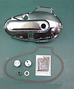 V-Twin Manufacturing Chrome Primary Cover Kit