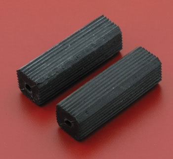V-Twin Manufacturing Replacement Bicycle-Style Kick Pedal Rubbers