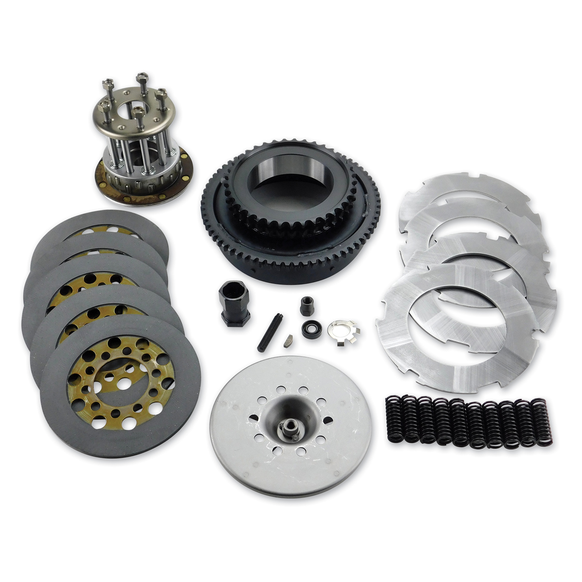 J&P Cycles® Big Twin Clutch Pack Kit