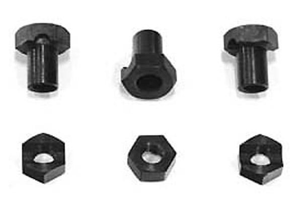 V-Twin Manufacturing Clutch Stud Nut Set