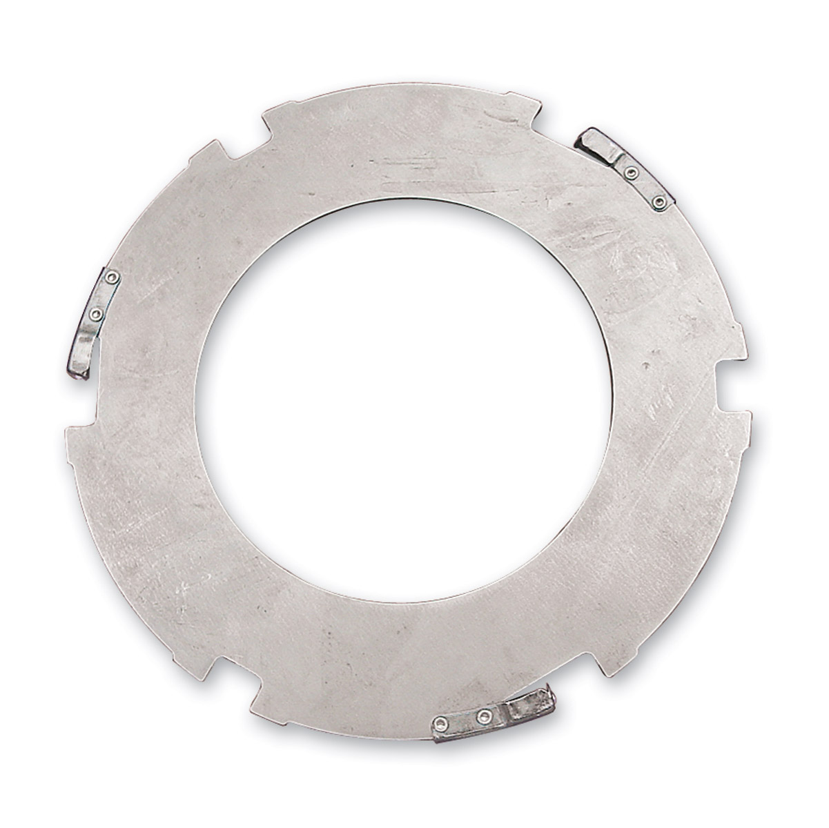 Alto Steel Clutch Plate with Silencers and Anti-Rattlers
