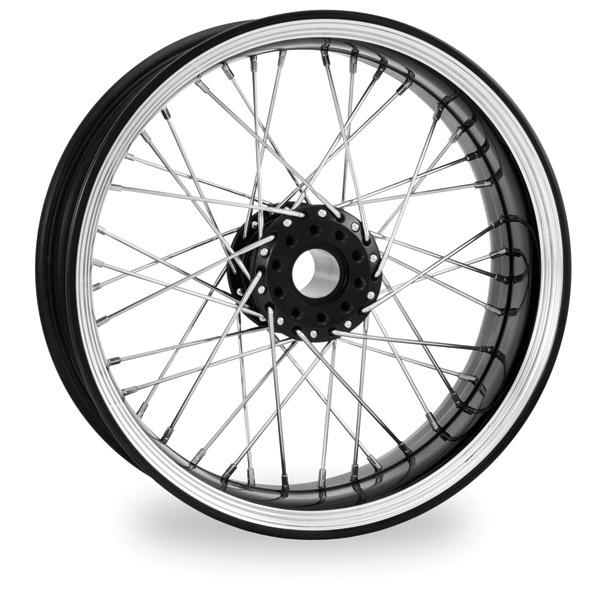 Performance Machine Merc Wire Platinum Cut Front Wheel, 21