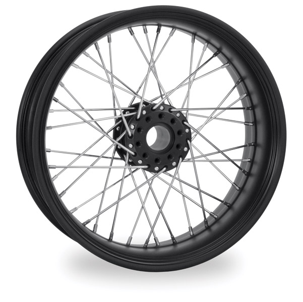 Performance Machine Merc Wire Black Ops Front Wheel, 23