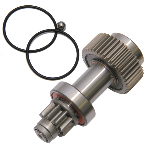 Evolution industries starter clutch kit with pinion gear for Starter motor pinion gear