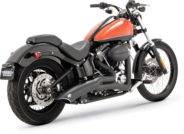 Vance & Hines Black Big Radius 2-into-1 Exhaust System