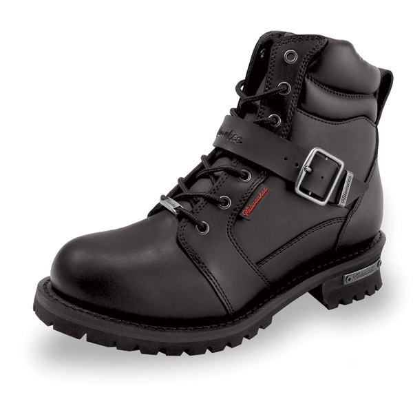 Milwaukee Motorcycle Clothing Co. Men's Iron Side Riding Boots