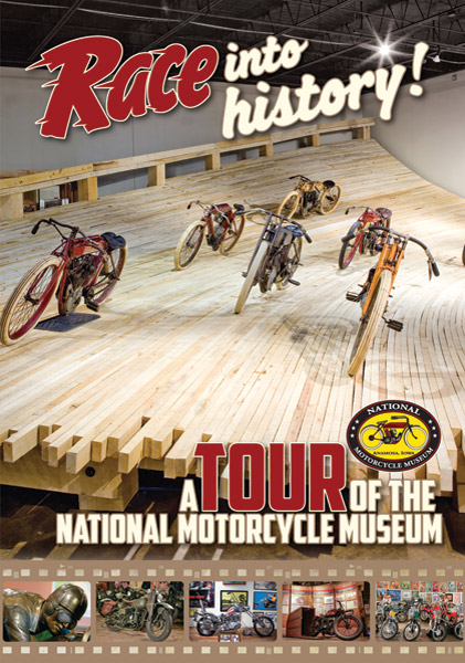 2012 National Motorcycle Museum Tour DVD