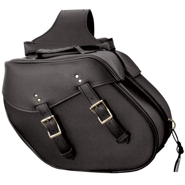 Interstate Leather Throwover Saddlebags