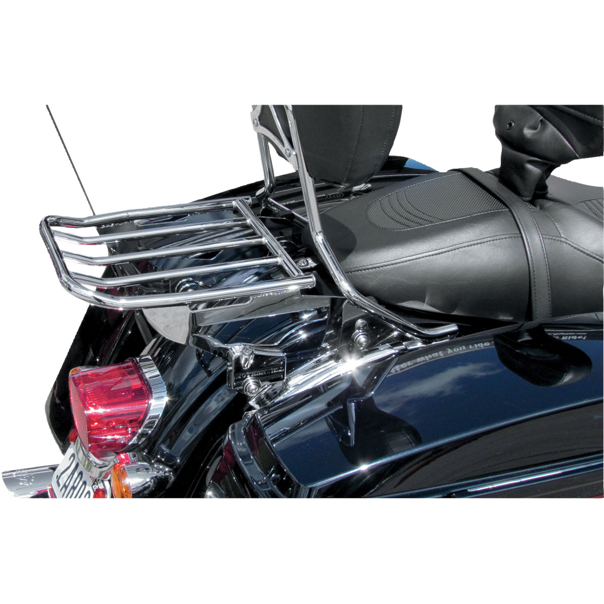 Motherwell 2-Up Detachable Chrome Locking Luggage Rack