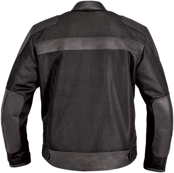 River Road Men's Pecos Leather/Mesh Jacket