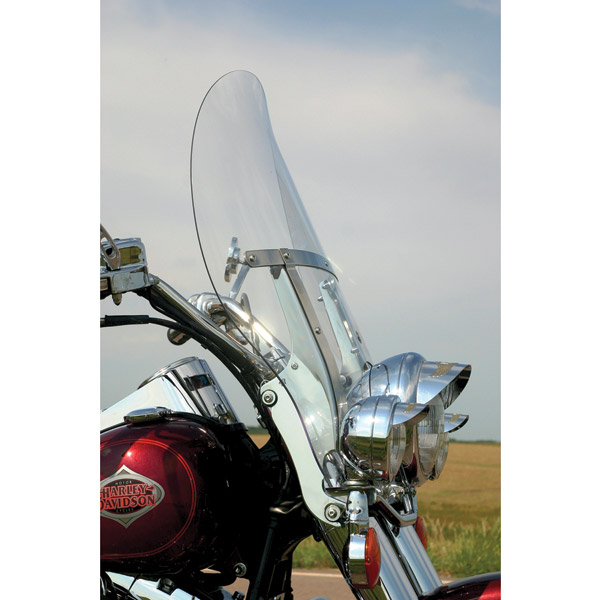Klock Werks Clear Billboard Flare Windshield