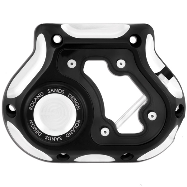 Roland Sands Design Contrast Cut, Clarity Clutch Cable Cover