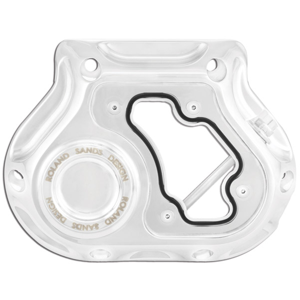 Roland Sands Design Chrome, Clarity Clutch Cable Cover
