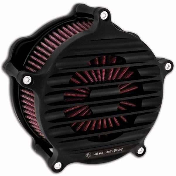 Roland Sands Design Black Ops Venturi Nostalgia Air Cleaner
