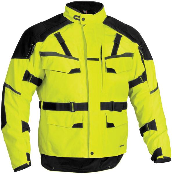 Firstgear Men's DayGlo Jaunt Textile Jacket