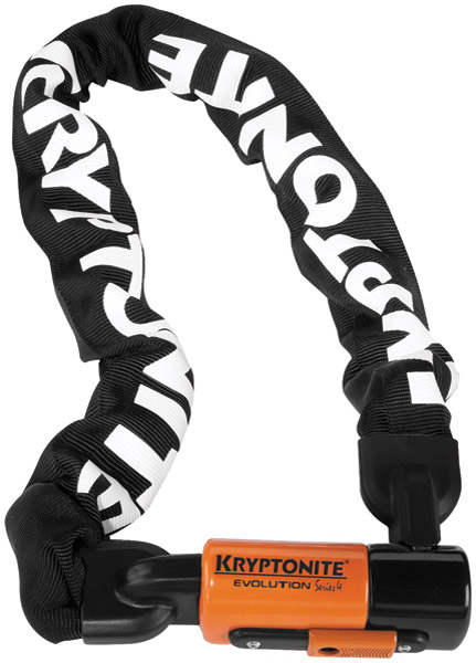 Kryptonite Evolution Series 4 Integrated Chain 5-1/4′
