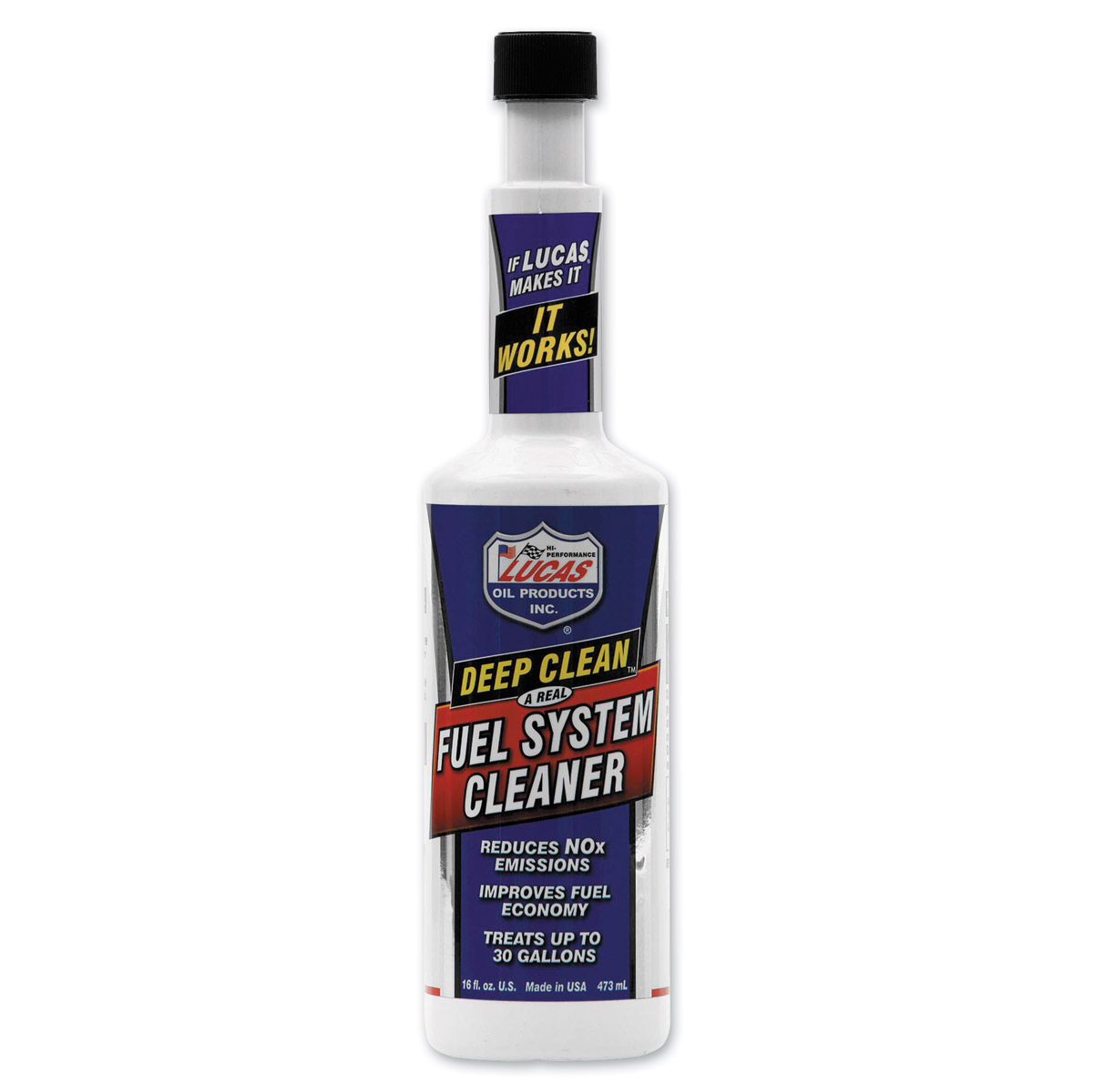 Lucas Deep Clean Fuel System Cleaner 16 oz