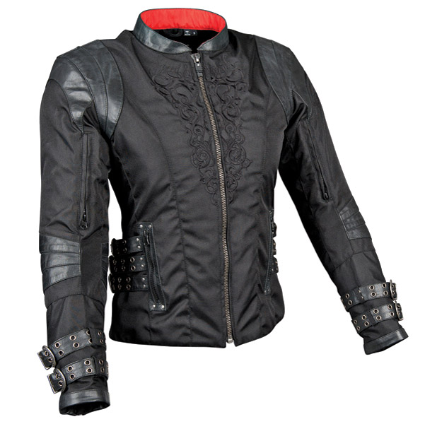 Speed and Strength MotoLisa Leather/Textile Jacket