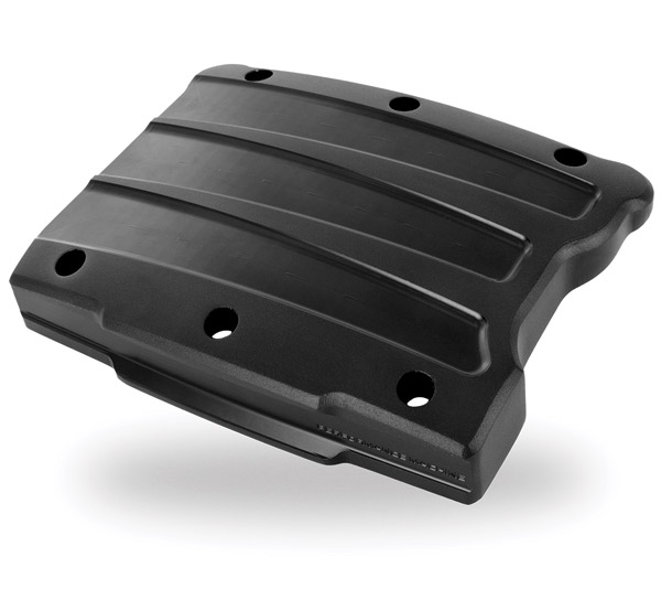 Performance Machine Scallop Black Ops Rocker Cover for Twin Cam