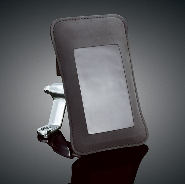 Kuryakyn Mirror Mounted Tech-Connect Cell Phone or Device Pouch Kit