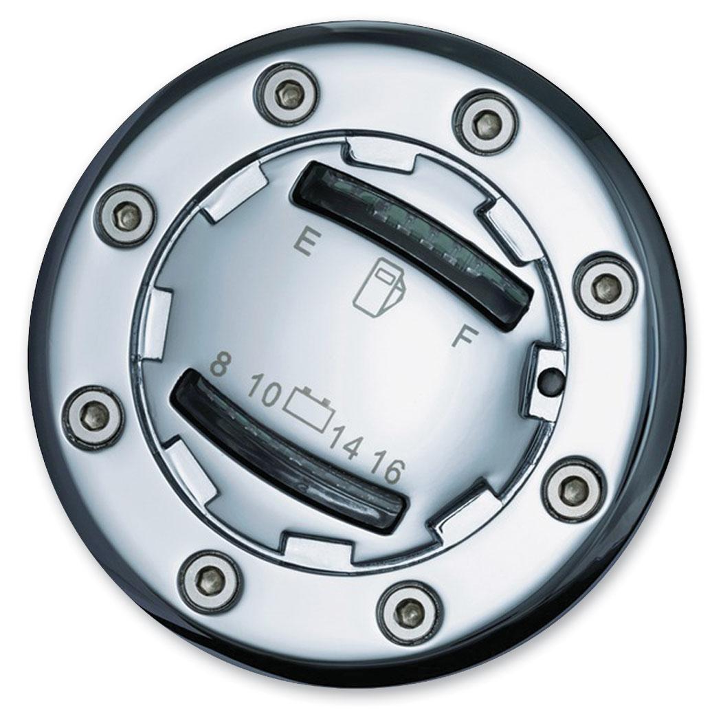 Kuryakyn Informer Led Fuel And Battery Gauge 633 887 J