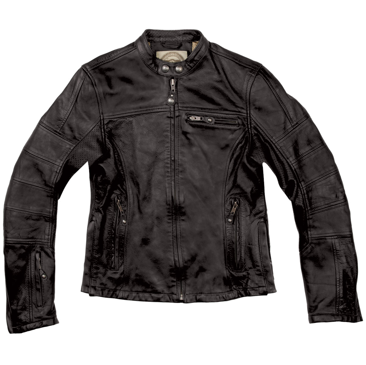 Roland Sands Design Maven Women's Black Leather Jacket