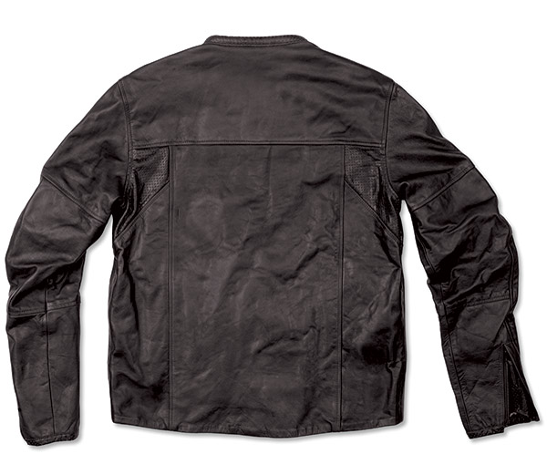 Roland Sands Design Men's Black Barfly Leather Jacket