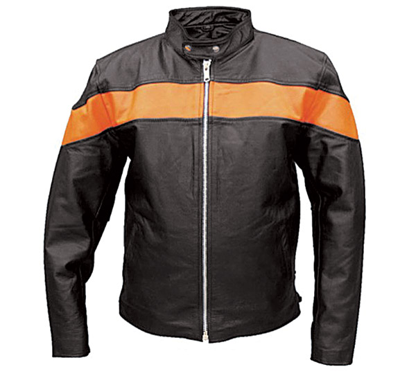 Allstate Leather Inc. Men's Leather Scooter Jacket