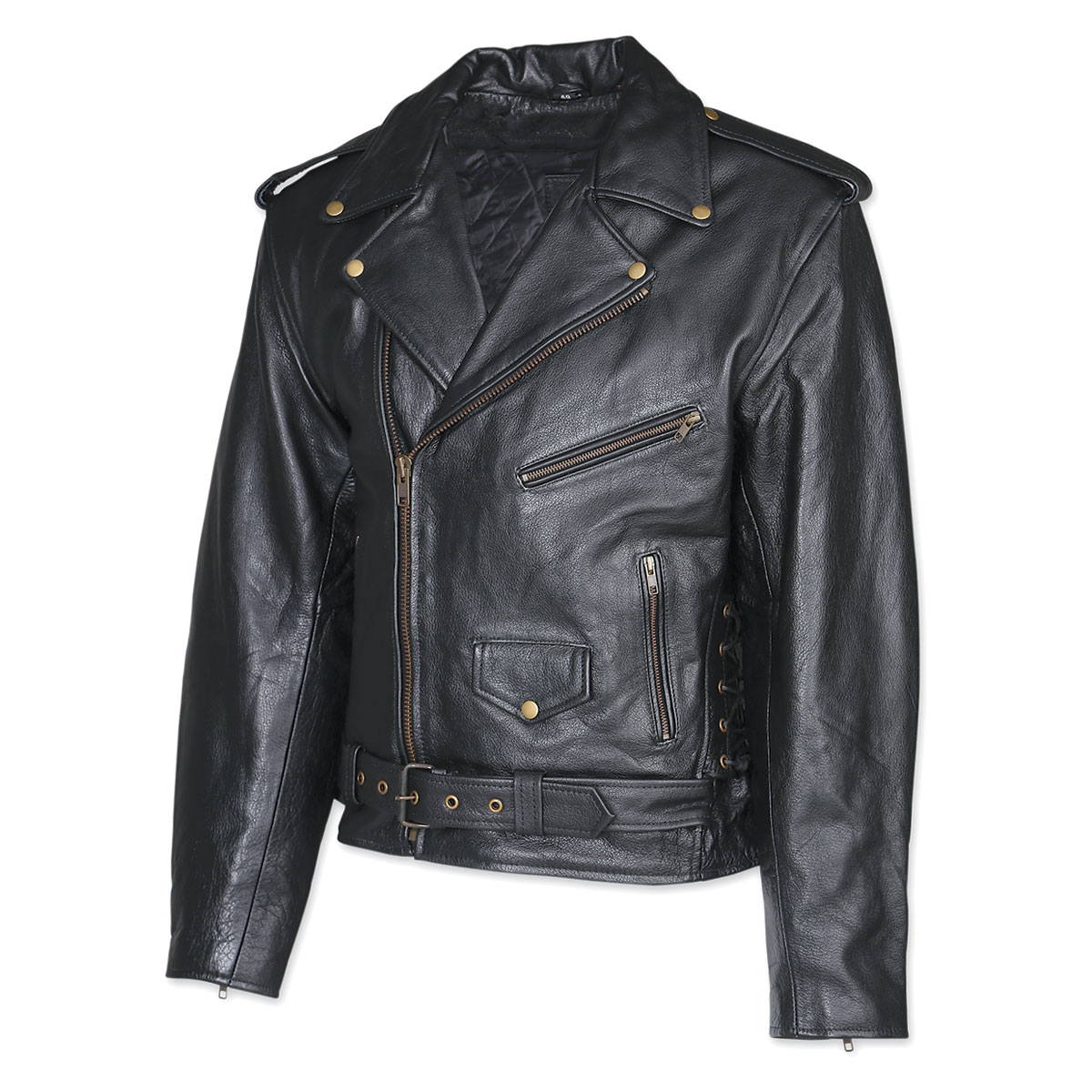 Allstate Leather Inc. Men's Leather Motorcycle Jacket