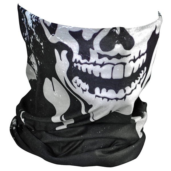 ZAN headgear Skull and Xbones Motley Tube