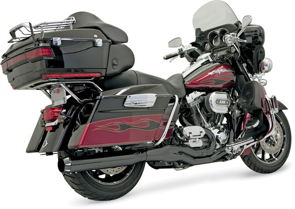 Bassani Ceramic Black B4 Exhaust System with Straight Muffler