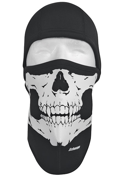 Schampa Skull Fleeceprene Balaclava | 634-757 | J&P Cycles
