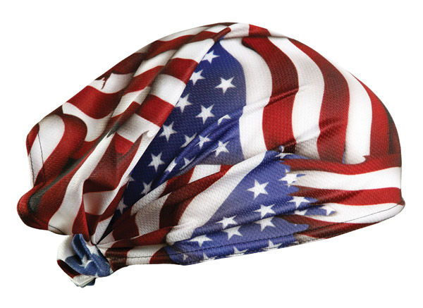 Schampa American Flag Dooz's Headwrap