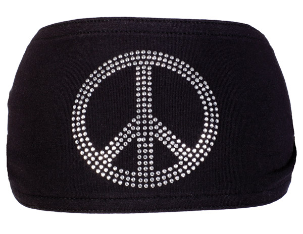 Schampa Peace Jeweled Mini Dooz′s Headband