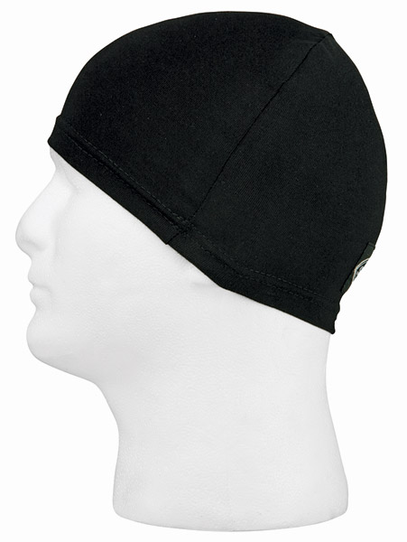 Schampa Black Stretch Skull Cap