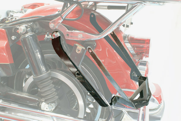 Rivco Trailer Hitch for Classic, Ultra Classic, and Road King