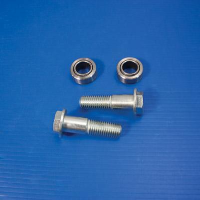 V-Twin Manufacturing Chrome Swingarm Pivot Bolt Kit