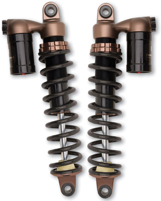 Progressive Suspension 970 Series Piggyback Shocks for Dyna