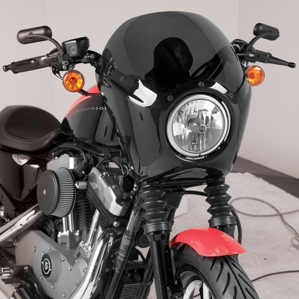 Arlen Ness Gloss Black Fairing