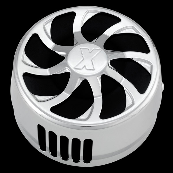 Xtreme Machine Turbo Chrome Horn Cover