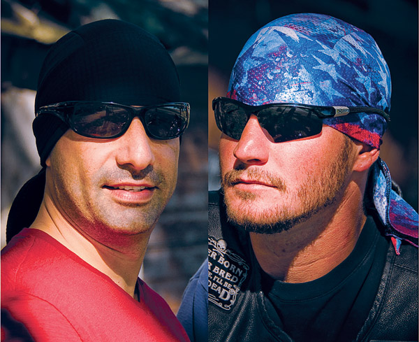 DesignWraps Brands Inc Roadwarrior Headwrap 2-Pack