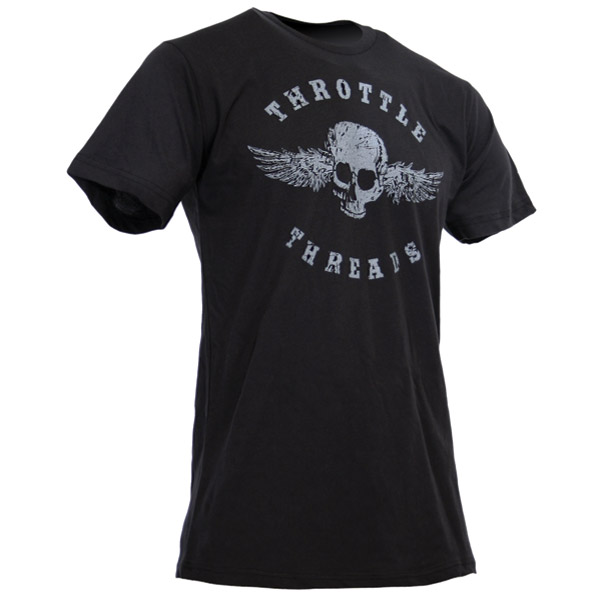 ThrottleThreads Men's Originals Black T-shirt
