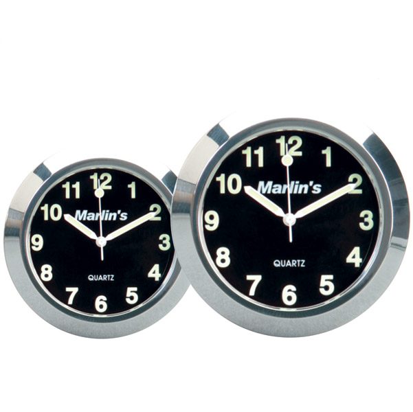 Marlin's HBC 1″ Black Limited Edition Jumbo Clock