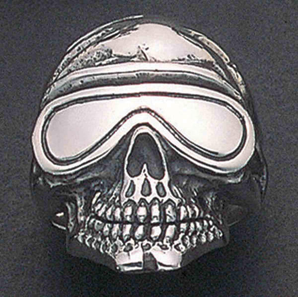 Wildthings Goggle Skull Ring