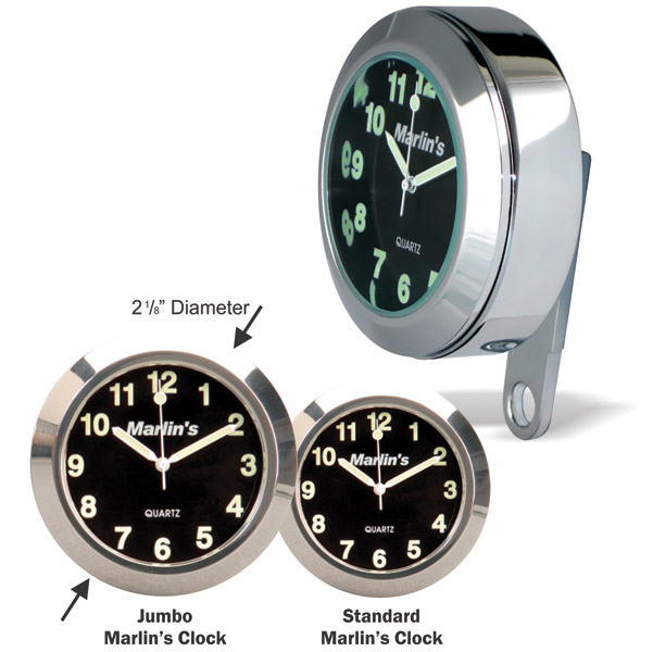Marlin's BCM Black Limited Edition Jumbo Clock