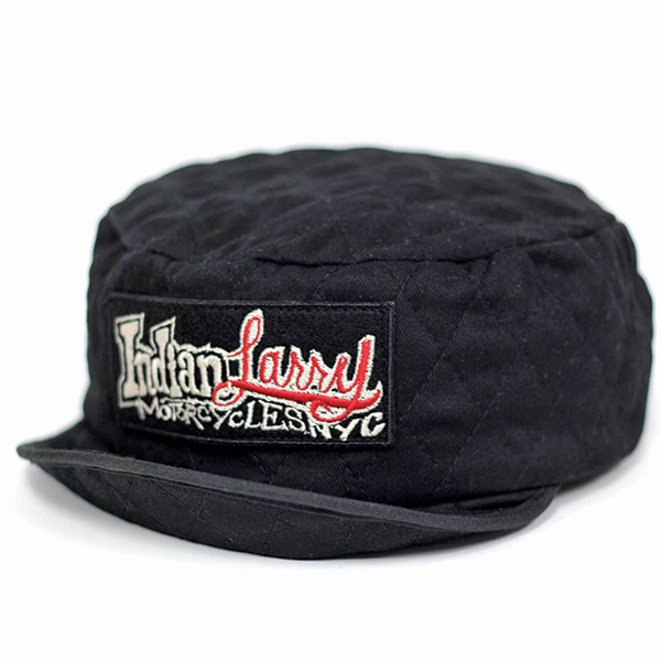 Indian Larry Rectangle Patch Welder's Cap