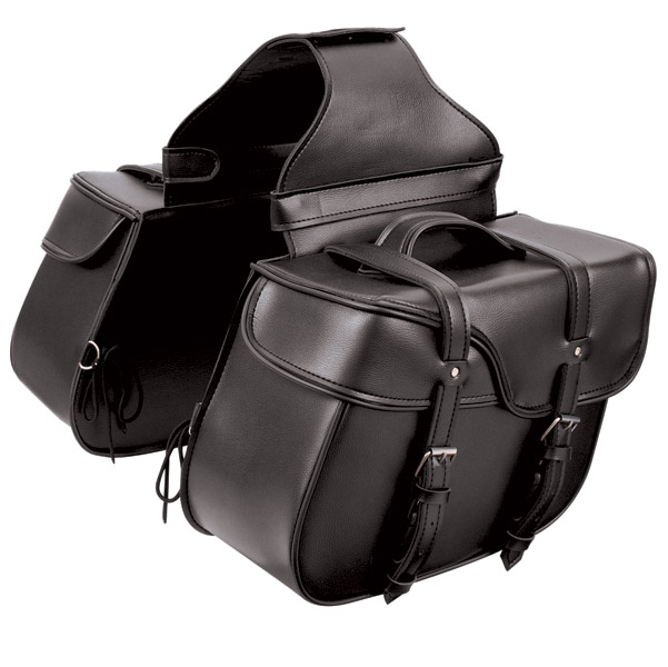 First Manufacturing Co. Large Slanted Saddlebag