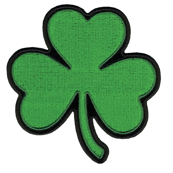 Hot Leathers Shamrock Patch