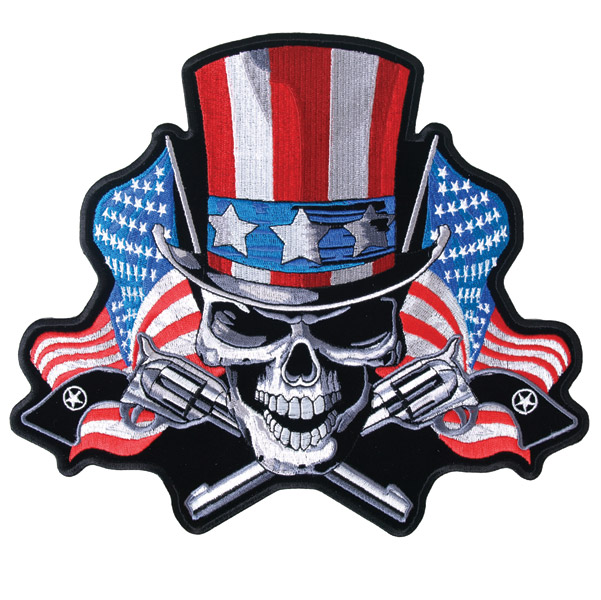 Hot Leathers Angrier Uncle Sam Patch