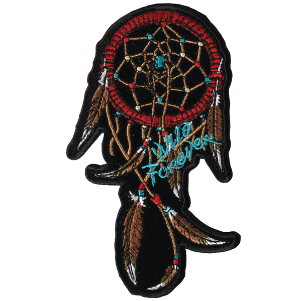 Hot Leathers Wild Dream Catcher Patch